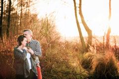 romantyczne zdjęcia narzeczeńskie kielce
