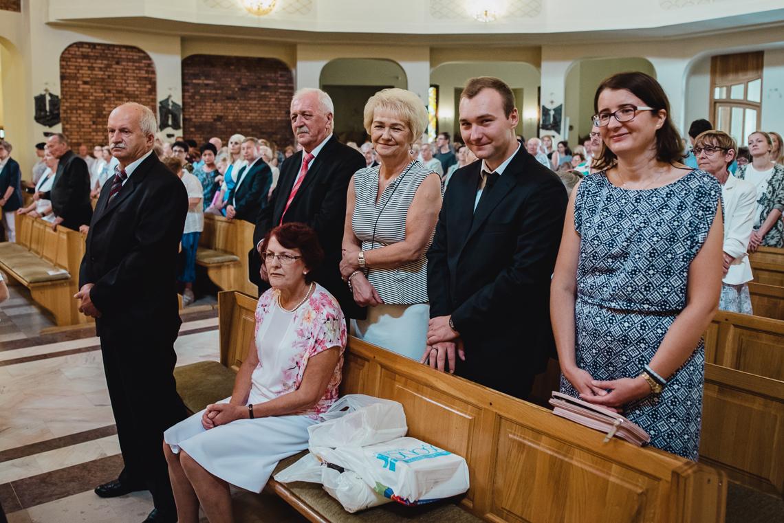 rodzina na chrzcie