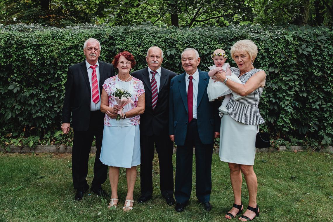 dziadkowie na chrzcie w kielcach