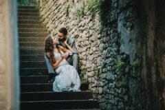 emocje na plenerze ślubnym