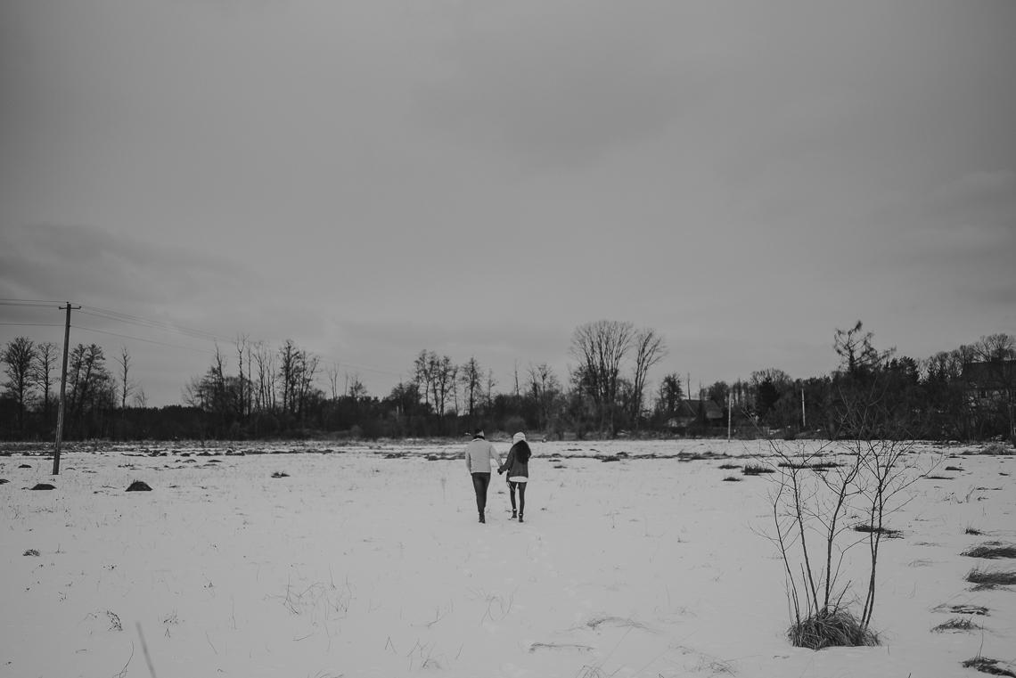 Zimowa sesja narzeczeńska Doroty i Macieja 50
