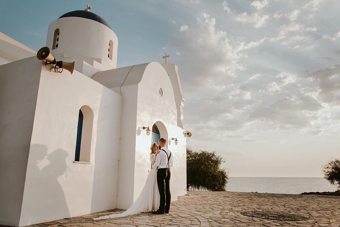 Plenerowa sesja ślubna na Cyprze o wschodzie i zachodzie słońca - w roli głównej Luiza i Bartek 12