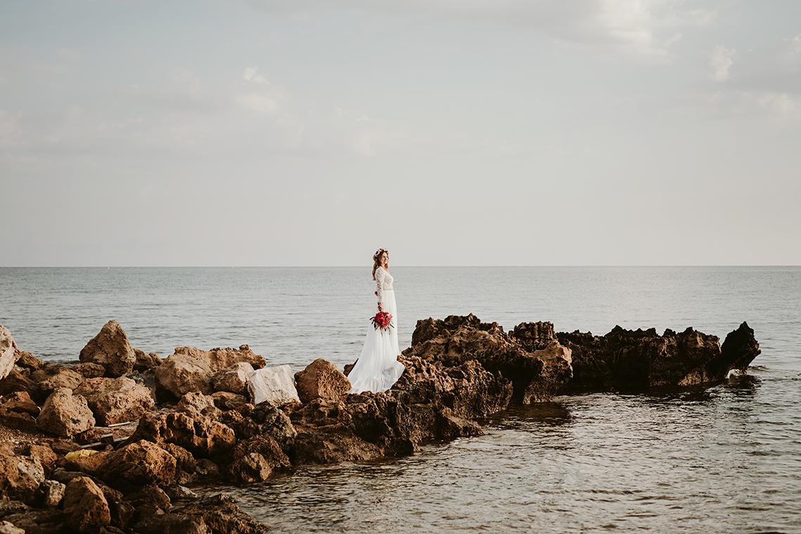 Plenerowa sesja ślubna na Cyprze o wschodzie i zachodzie słońca - w roli głównej Luiza i Bartek 13