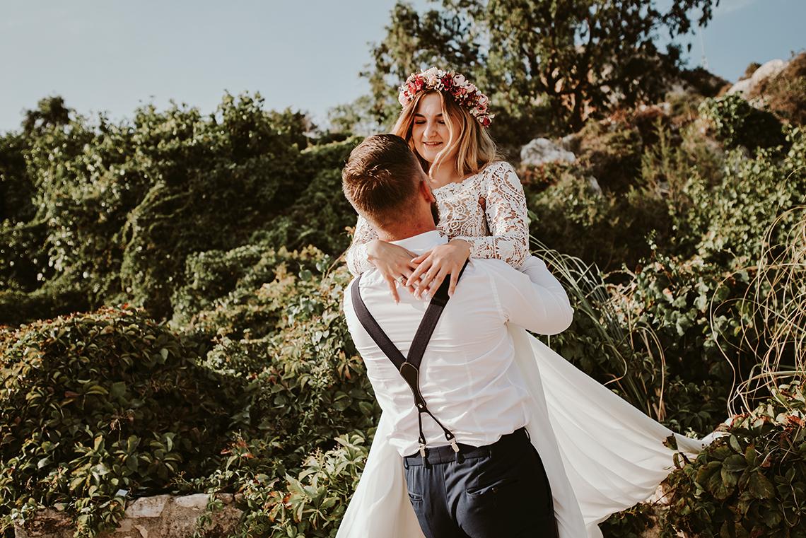 Plenerowa sesja ślubna na Cyprze o wschodzie i zachodzie słońca - w roli głównej Luiza i Bartek 15