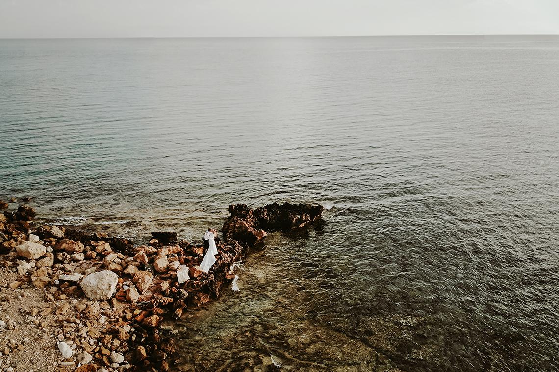 Plenerowa sesja ślubna na Cyprze o wschodzie i zachodzie słońca - w roli głównej Luiza i Bartek 18