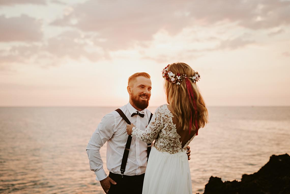 Plenerowa sesja ślubna na Cyprze o wschodzie i zachodzie słońca - w roli głównej Luiza i Bartek 2