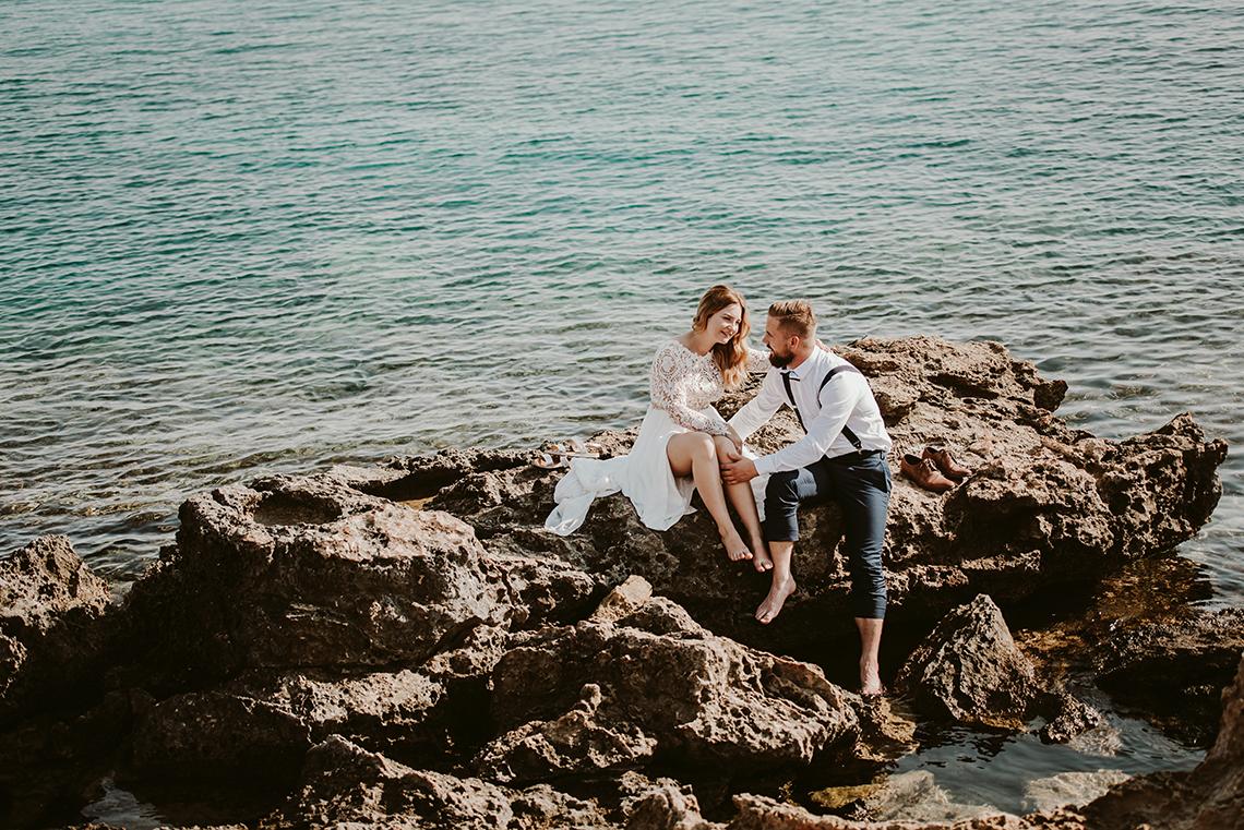 Plenerowa sesja ślubna na Cyprze o wschodzie i zachodzie słońca - w roli głównej Luiza i Bartek 23