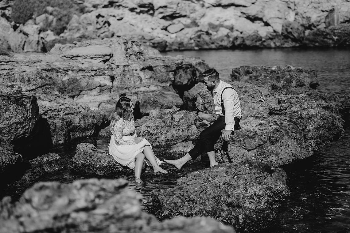 Plenerowa sesja ślubna na Cyprze o wschodzie i zachodzie słońca - w roli głównej Luiza i Bartek 24