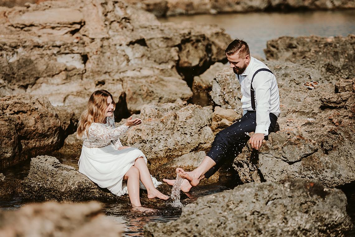 Plenerowa sesja ślubna na Cyprze o wschodzie i zachodzie słońca - w roli głównej Luiza i Bartek 25