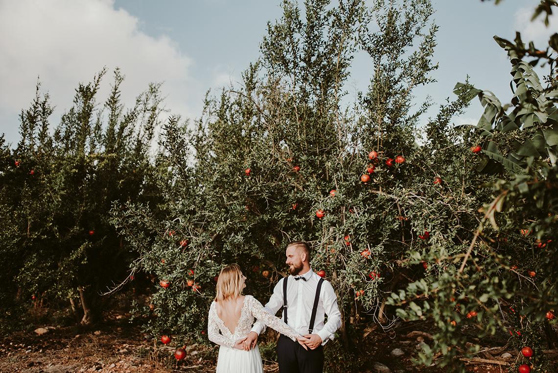 Plenerowa sesja ślubna na Cyprze o wschodzie i zachodzie słońca - w roli głównej Luiza i Bartek 38