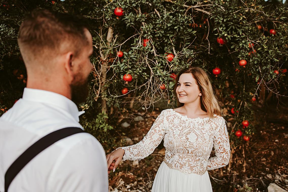 Plenerowa sesja ślubna na Cyprze o wschodzie i zachodzie słońca - w roli głównej Luiza i Bartek 39