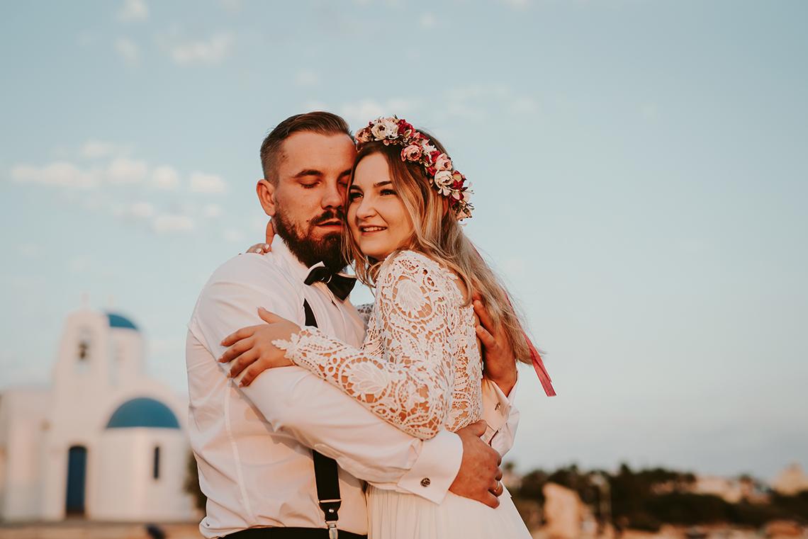 Plenerowa sesja ślubna na Cyprze o wschodzie i zachodzie słońca - w roli głównej Luiza i Bartek 4