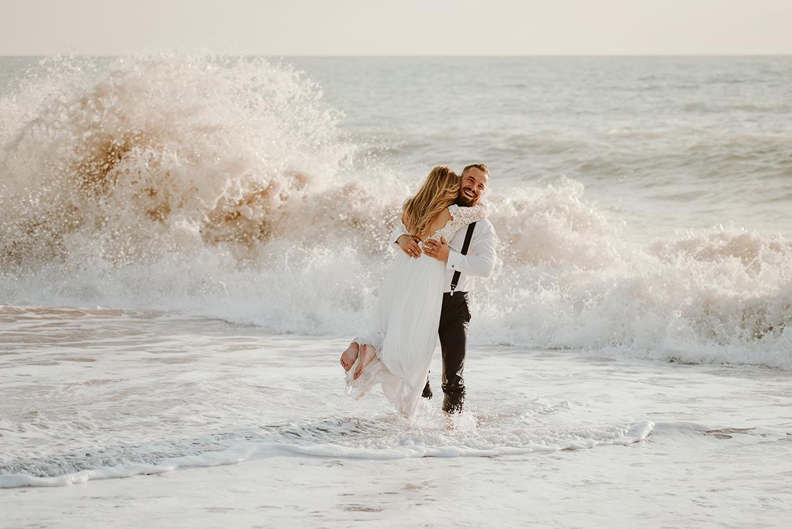 Plenerowa sesja ślubna na Cyprze o wschodzie i zachodzie słońca - w roli głównej Luiza i Bartek 45