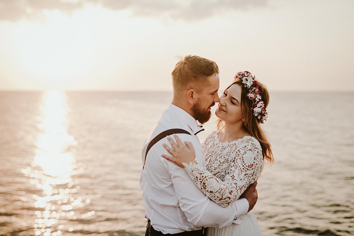 Plenerowa sesja ślubna na Cyprze o wschodzie i zachodzie słońca - w roli głównej Luiza i Bartek 6
