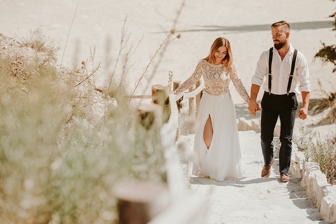 Plenerowa sesja ślubna na Cyprze o wschodzie i zachodzie słońca - w roli głównej Luiza i Bartek 63