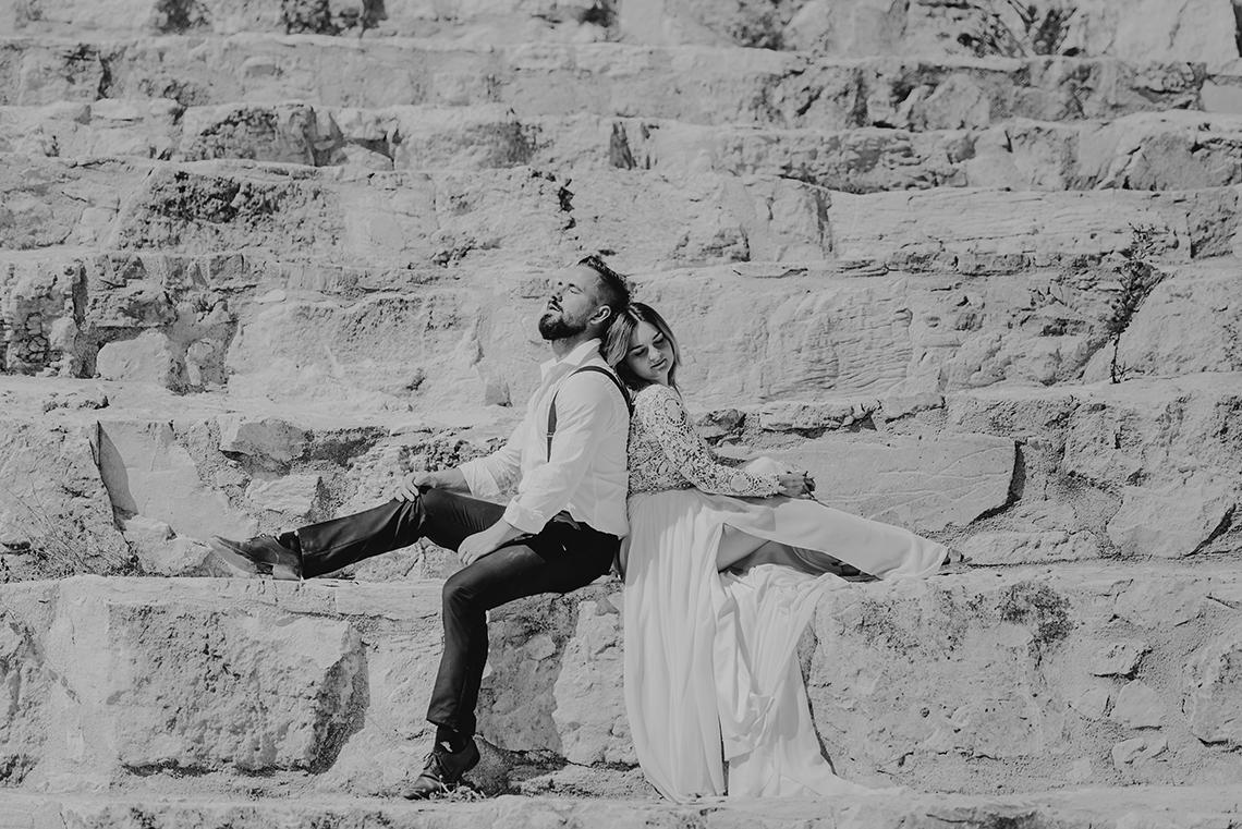 Plenerowa sesja ślubna na Cyprze o wschodzie i zachodzie słońca - w roli głównej Luiza i Bartek 65