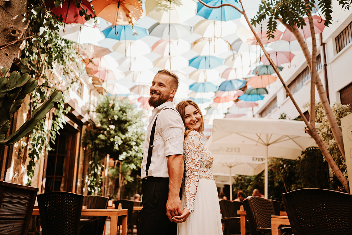 Plenerowa sesja ślubna na Cyprze o wschodzie i zachodzie słońca - w roli głównej Luiza i Bartek 80