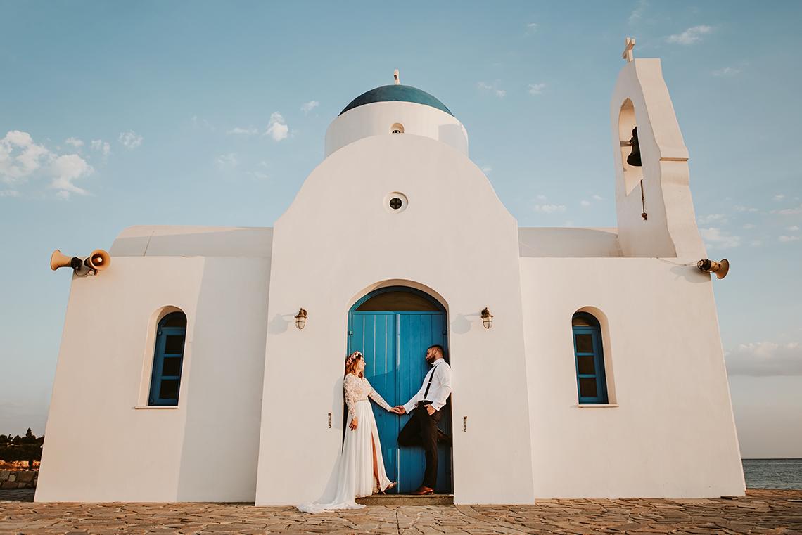 Plenerowa sesja ślubna na Cyprze o wschodzie i zachodzie słońca - w roli głównej Luiza i Bartek 9