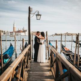 Romantyczny plener ślubny we Włoszech.