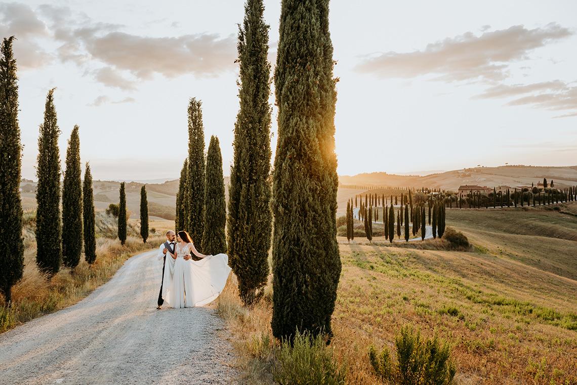 Plenerowa sesja ślubna w Toskanii - czy warto? 35
