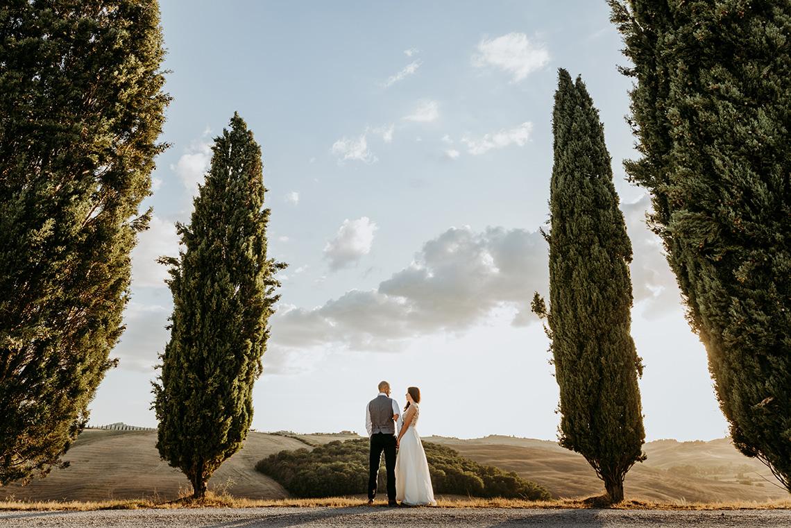Plenerowa sesja ślubna w Toskanii - czy warto? 34
