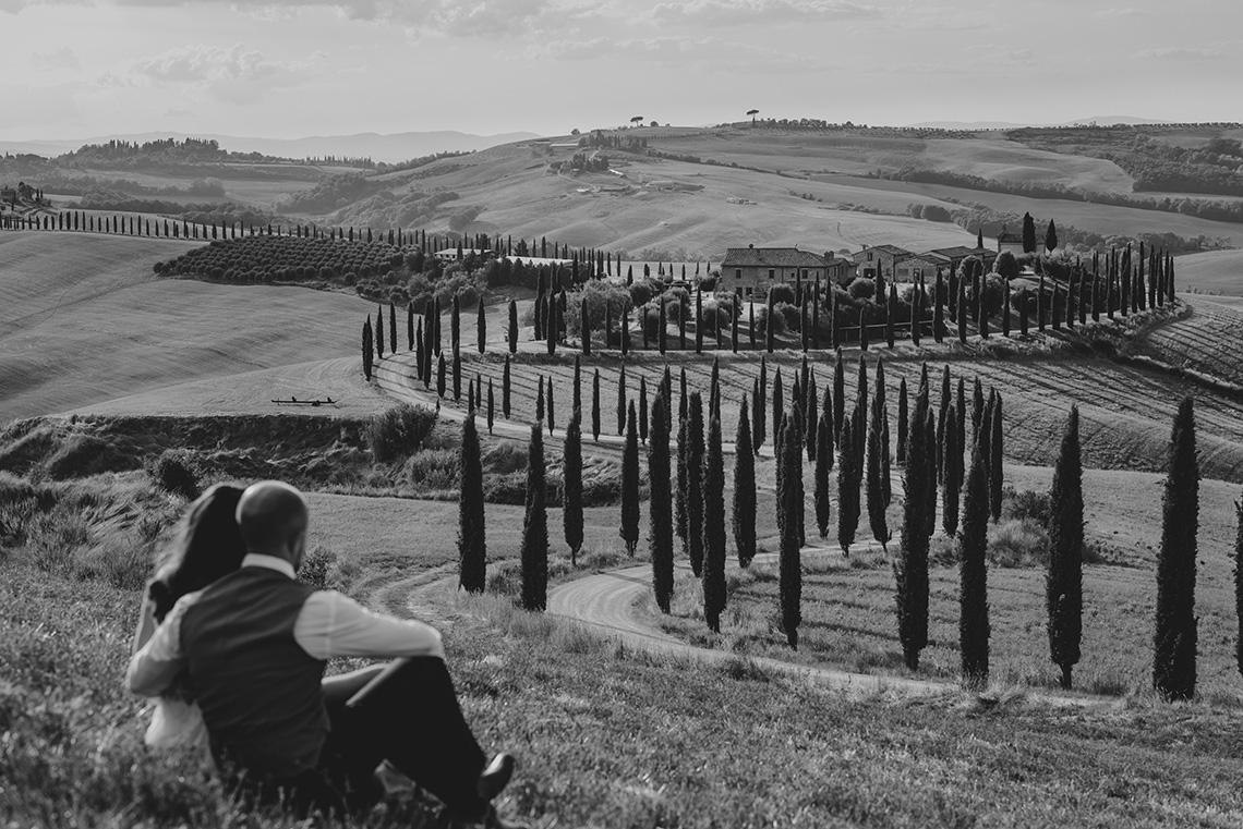 Plenerowa sesja ślubna w Toskanii - czy warto? 25