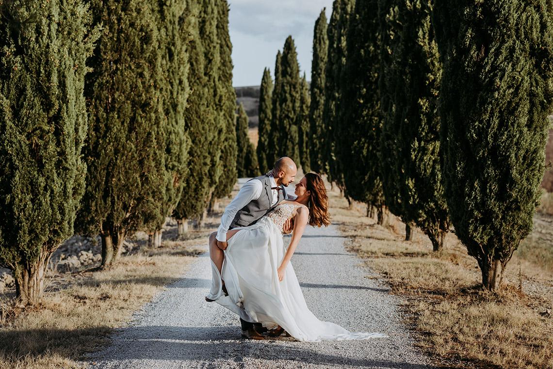 Plenerowa sesja ślubna w Toskanii - czy warto? 32