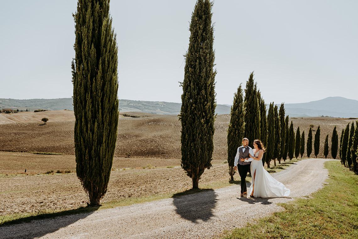 Plenerowa sesja ślubna w Toskanii - czy warto? 40