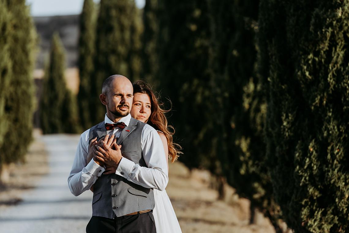 Plenerowa sesja ślubna w Toskanii - czy warto? 30