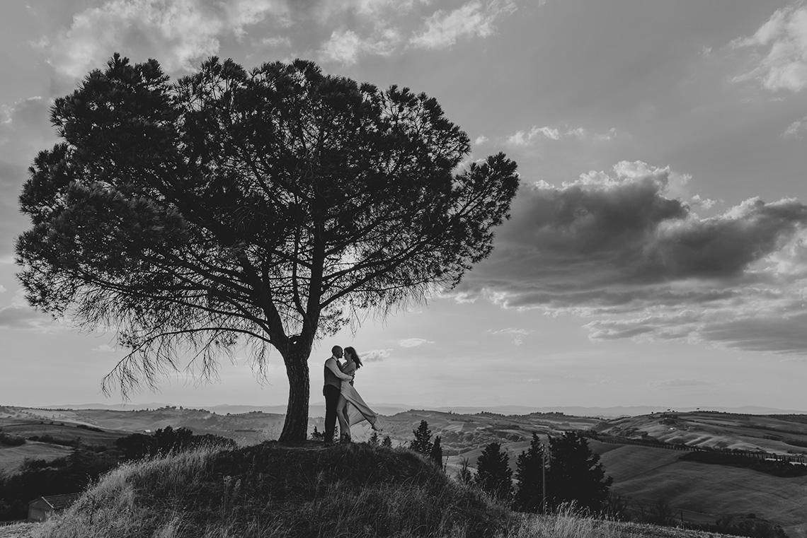 Plenerowa sesja ślubna w Toskanii - czy warto? 26