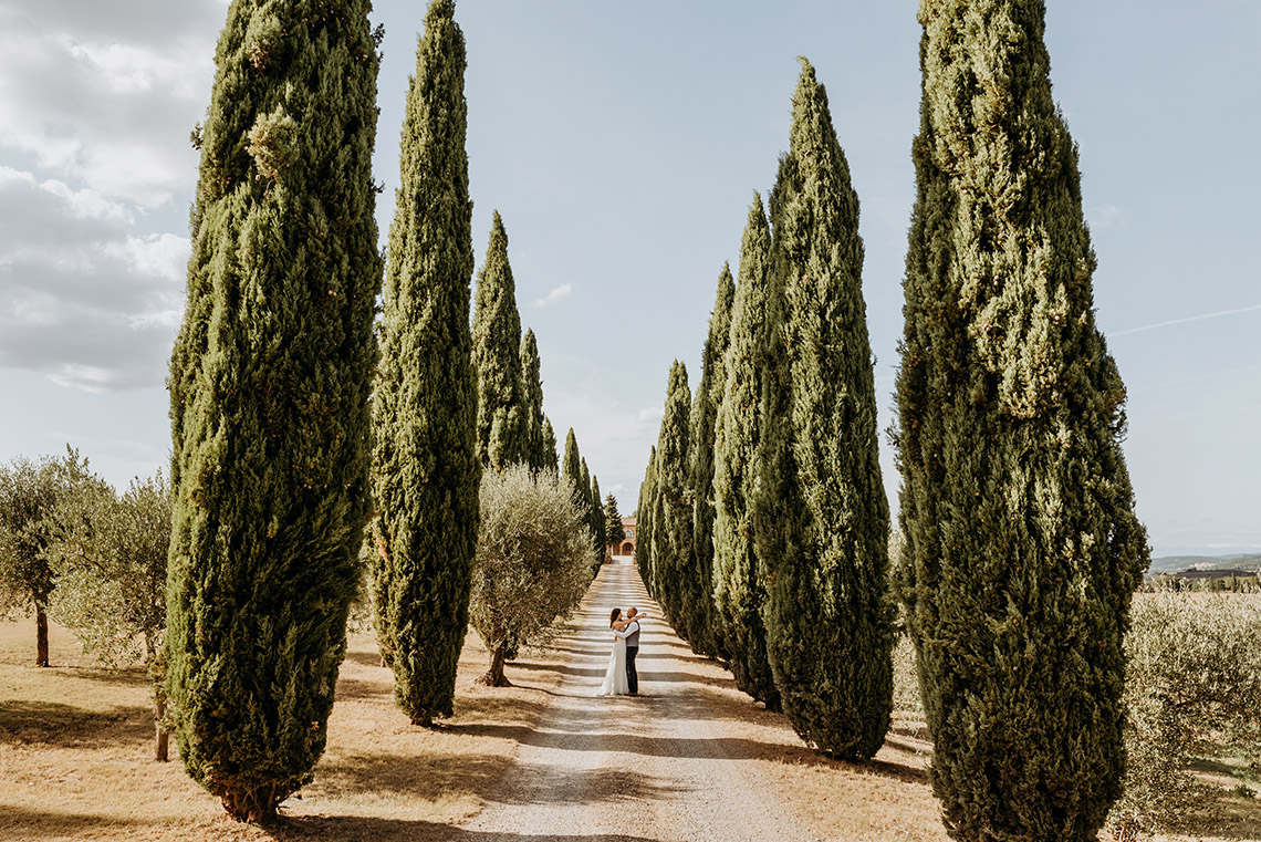 Plenerowa sesja ślubna w Toskanii - czy warto? 20